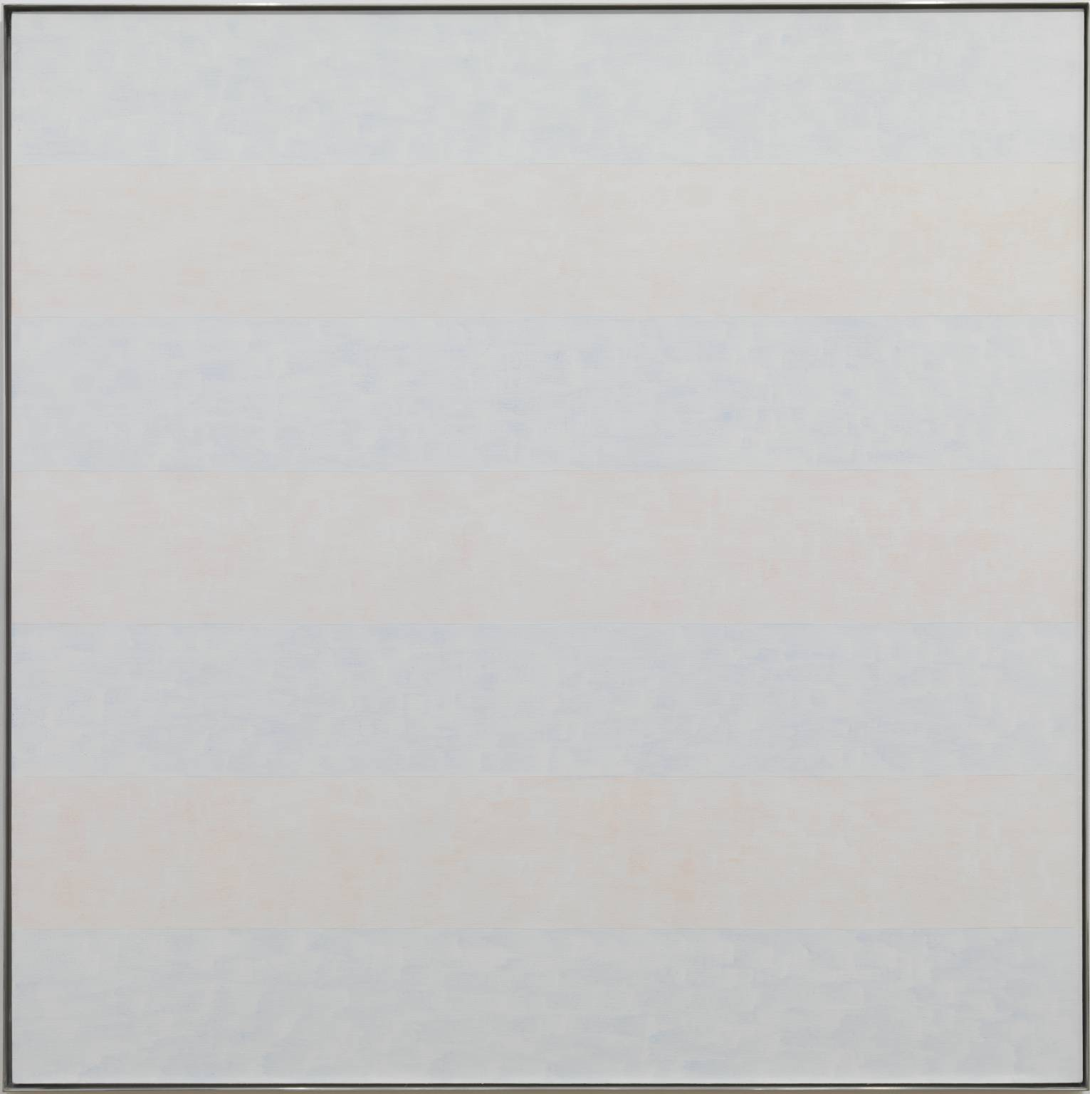 Untitled #10 1995 by Agnes Martin 1912-2004